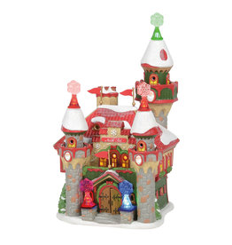 Department 56 Santa's Snowflake Palace for North Pole Village