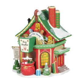 Department 56 St. Nick's Gift Sorting Center for North Pole Village