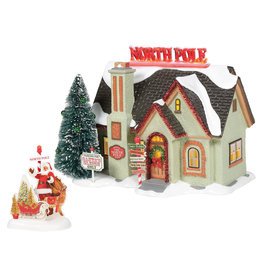 Department 56 The North Pole House for Snow Village