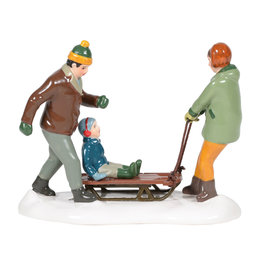 Department 56 Heading for the Hills for Snow Village