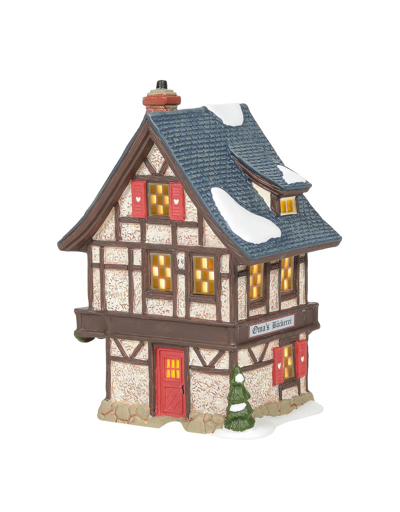 Department 56 Oma's Bakery for Alpine Village