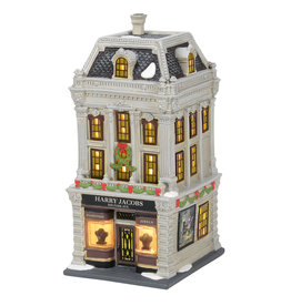 Department 56 Harry Jacobs Jewelers for Christmas in the City Village