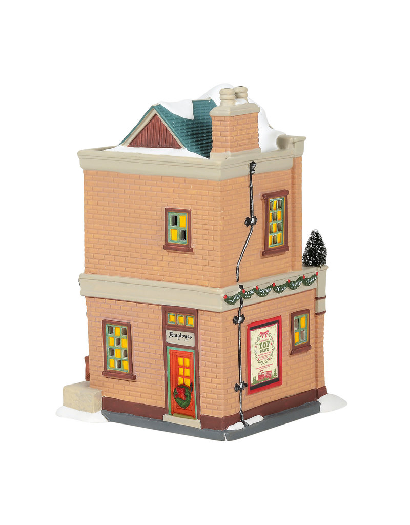 Department 56 Model Railroad Shop for Christmas in the City Village