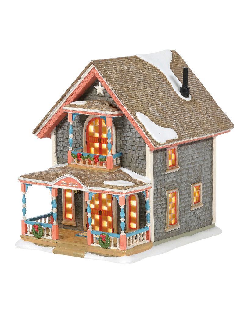 Department 56 Gingerbread Cottage #1 for New England Village