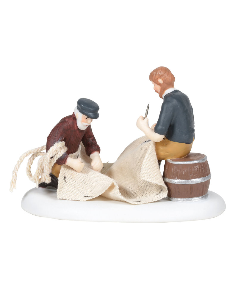 Department 56 Mending the Sails for New England Village
