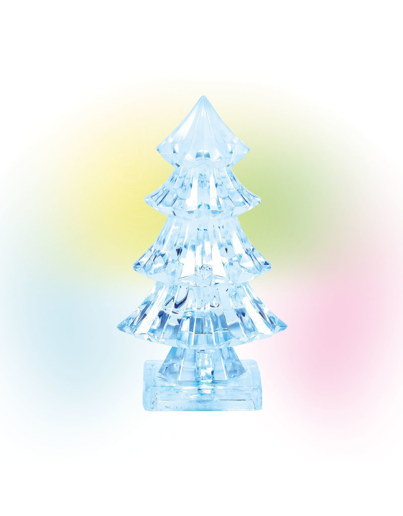 Department 56 Lit Ice Castle Tree for Department 56 Village