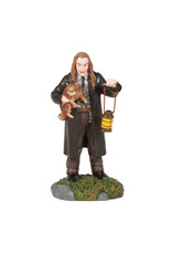 Department 56 Filch and Mrs. Norris for Harry Potter Village