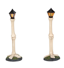 Department 56 Femur Bone Street Lights for Halloween Village