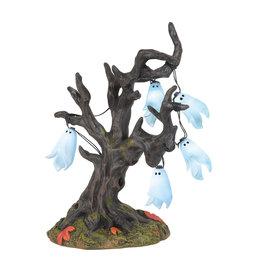 Department 56 Illuminated Ghost Tree for Halloween Village