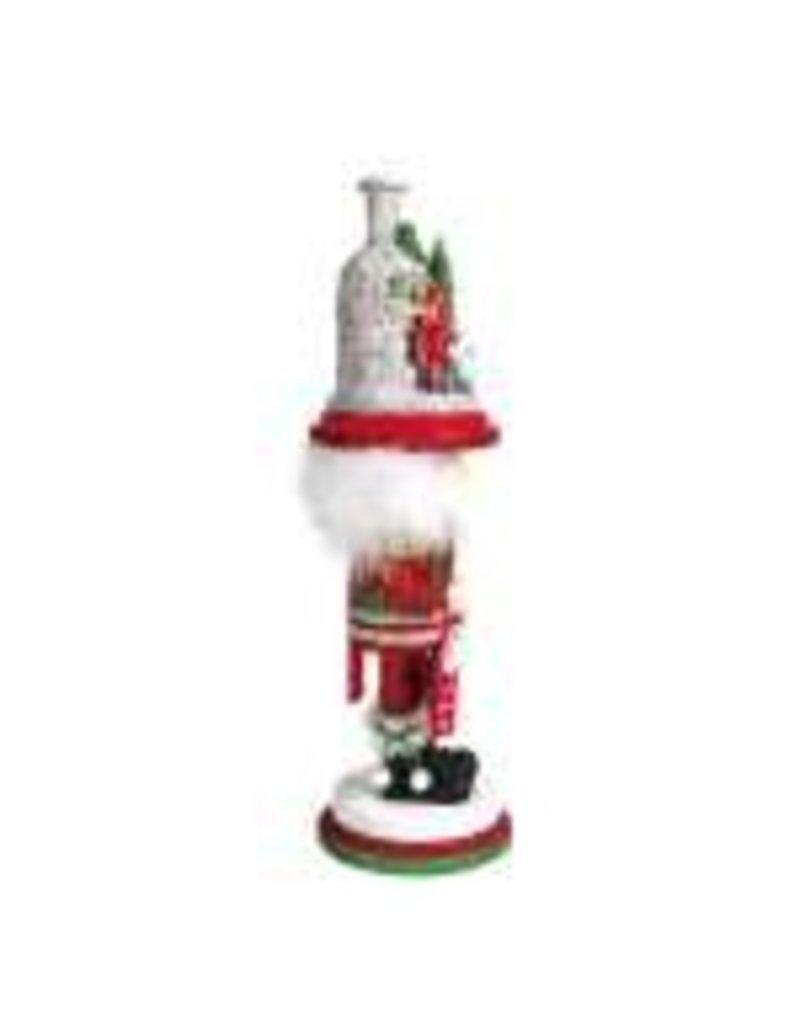 Christmas Fireplace Nutcracker