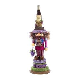 Wine King Nutcracker