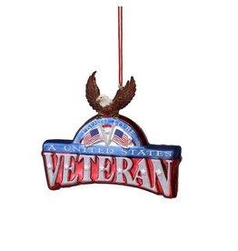 Veteran Plaque Ornament