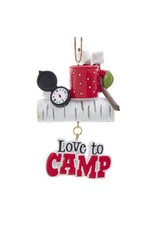 Love to Camp Ornament