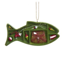 Fishing Supply Box Ornament