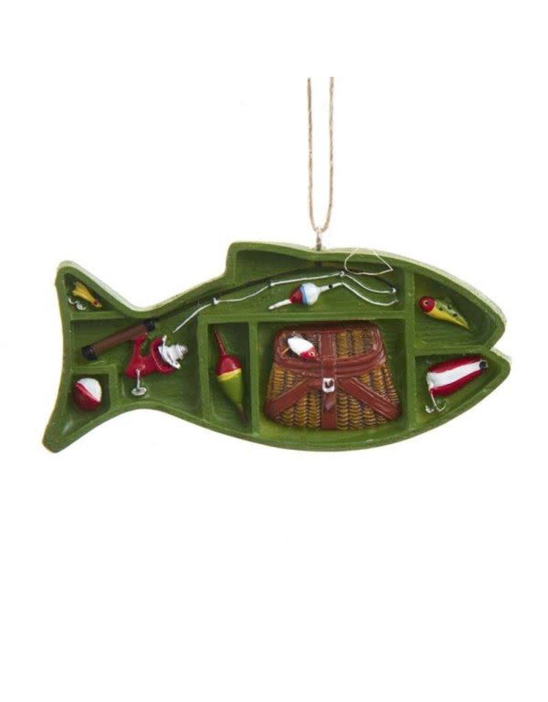Fishing Supply Box Ornament