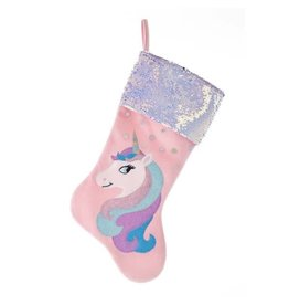 Unicorn Sequin Stocking
