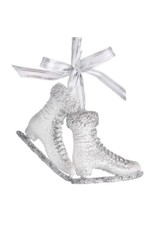 Winter Forest Ice Skate Ornament