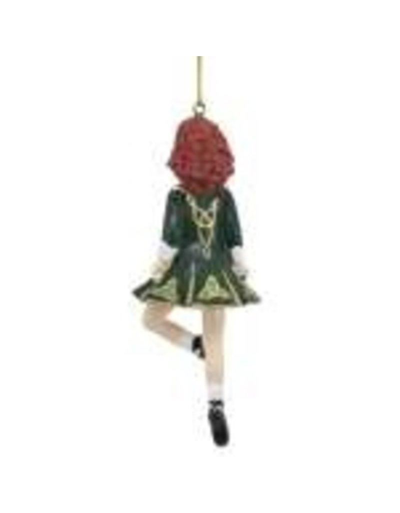 Dancing Irish Girl Ornament
