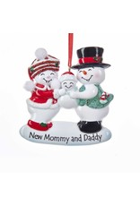 Snow New Mom and Dad