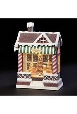 Gingerbread Shop Shimmer Lantern