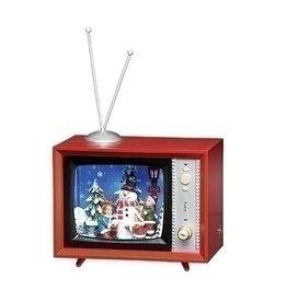 Snowfall Snowman TV