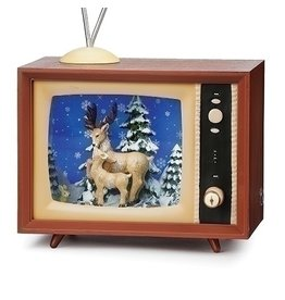 Snowfall Reindeer TV