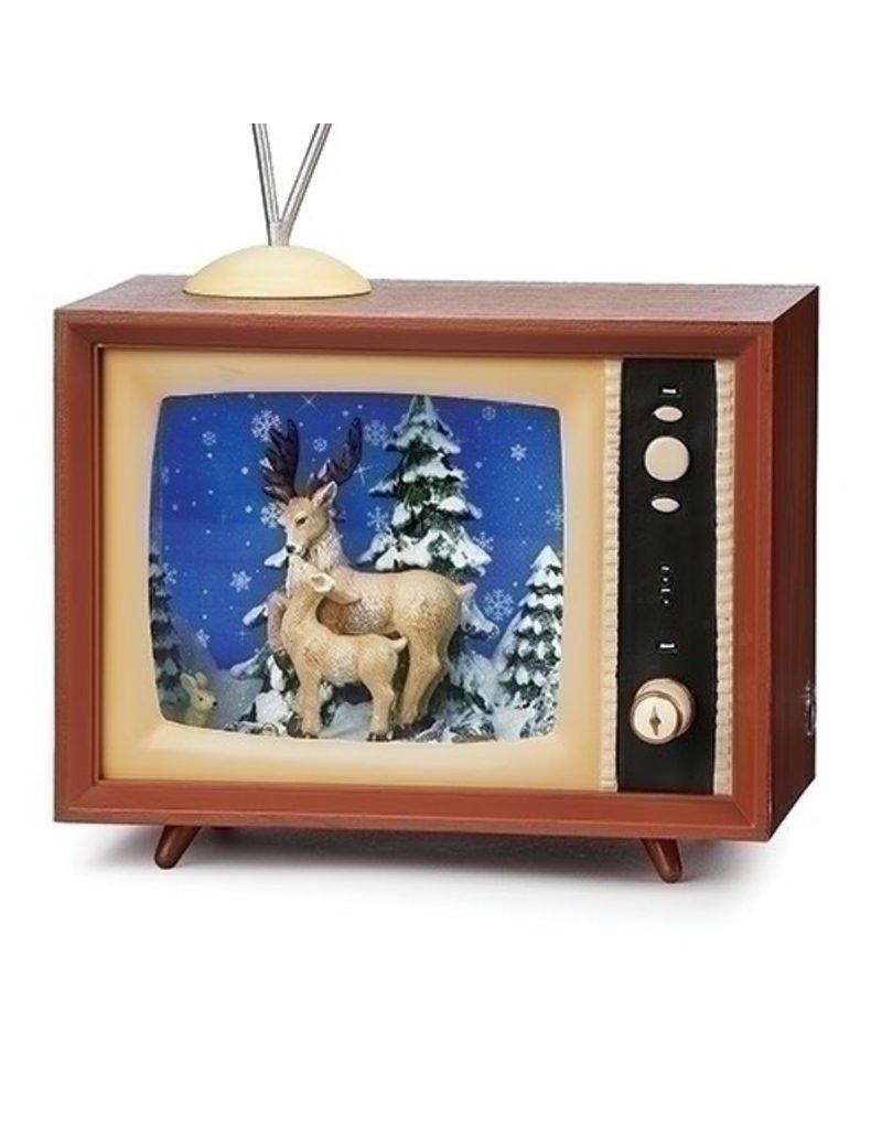 Snowfall Reindeer TV