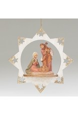 Fontanini Gold Tipped Star Ornament