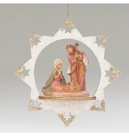 Fontanini Gold Tipped Star Ornament