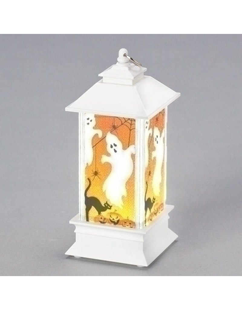 White Ghost Lantern Mini Shimmer