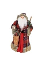 Woodland Lodge Santa Topper