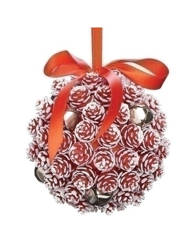 Red Pinecone Ball