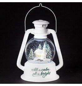 Church Lantern Snowglobe