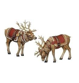 Jubilant Deer Set of 2