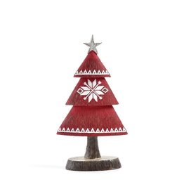 Small Nordic Red Tree