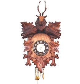 Deer Head Clockwork Clock
