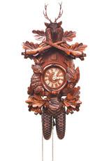 8 Day Deer Head Cuckoo Clock