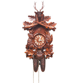 8 Day Deer Head Cuckoo Clock