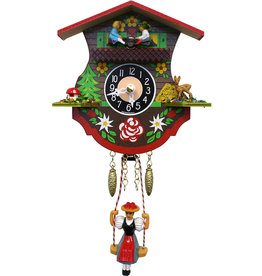 Mini Teeter Totter Cuckoo Clock