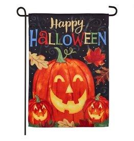 Haunted Halloween Garden Flag