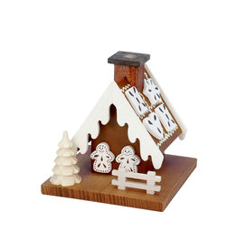 Mini Gingerbread House Smoker