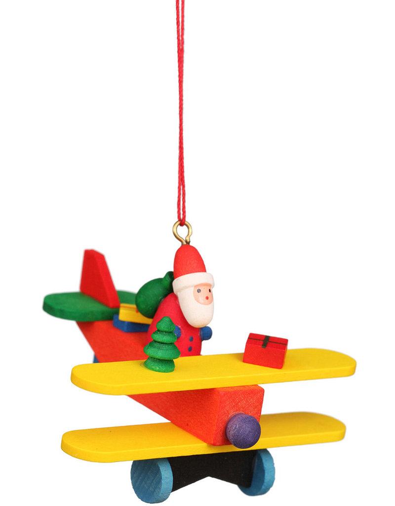 Santa in Plane