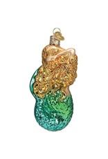 Old World Christmas Seashell Mermaid