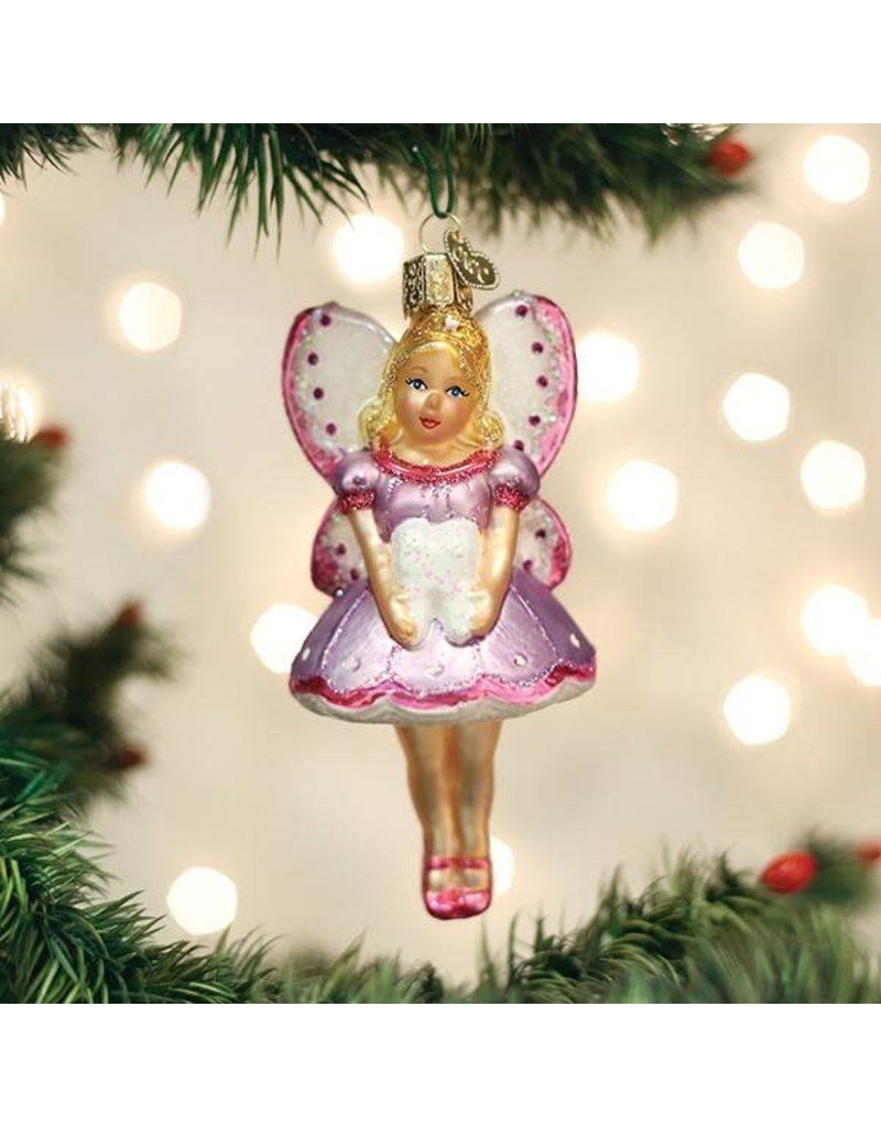Old World Christmas Tooth Fairy