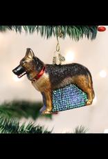 Old World Christmas German Shepherd