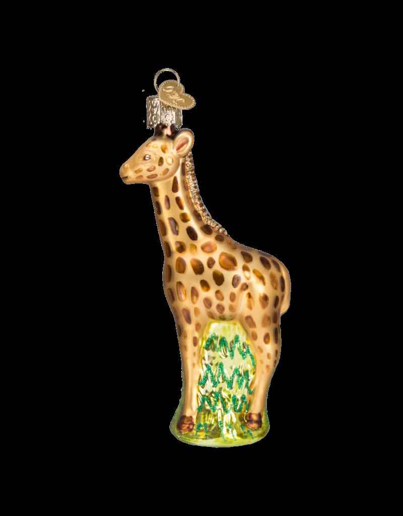 Old World Christmas Baby Giraffe