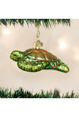 Old World Christmas Green Sea Turtle
