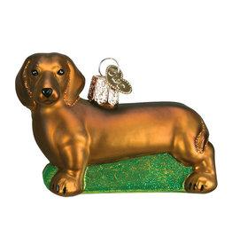 Old World Christmas Daschshund