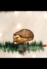 Old World Christmas Clip-On Hedgehog