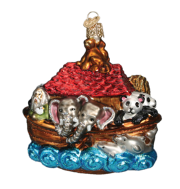 Old World Christmas Noah's Ark Ornament
